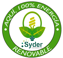 SYDER ECO DISTINTIVO